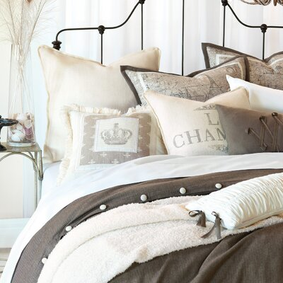 Daphne Flint Duvet Cover Size: Queen