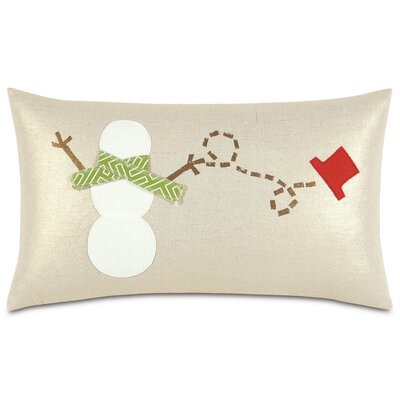 Seasonally Chic Jack Frosters Lumbar Pillow