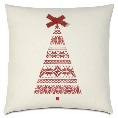 Nordic Holiday Kirstens Tree Throw Pillow