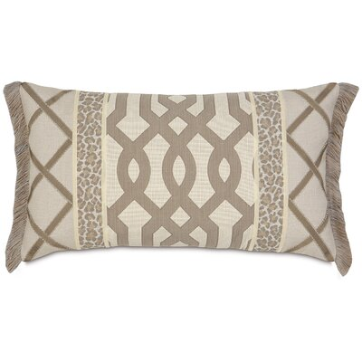 Rayland with Brush Fringe Lumbar Pillow