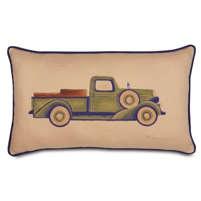 Pinkerton Eli Polyester Truck Decorative Pillow