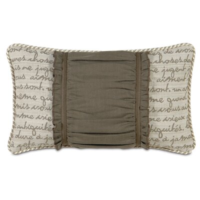Daphne Breeze Ruched Lumbar Pillow