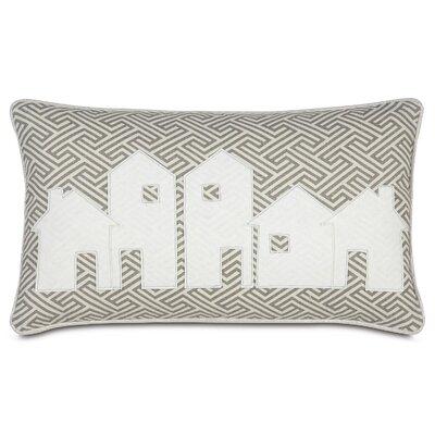Tinsel Town Christmas Village Lumbar Pillow