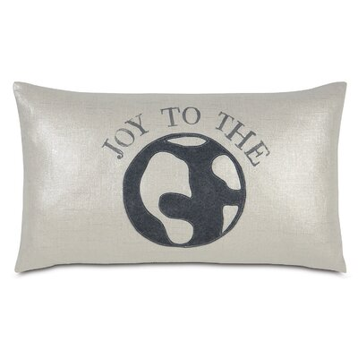 Tinsel Town World of Joy Lumbar Pillow