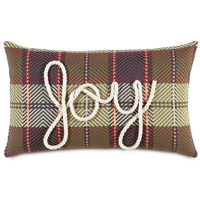 Jingle Bell Rock Lasso Joy Lumbar Pillow