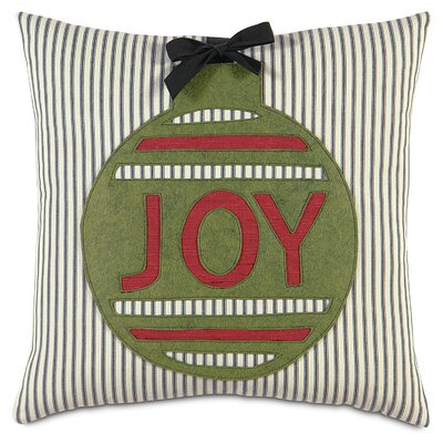 Fa La La Ornament Joy Throw Pillow