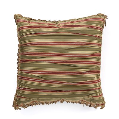 Glenwood Baines Patina Ruched Euro Pillow