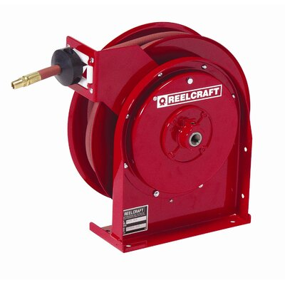 "Reelcraft 0.25"" x 50', 300 psi, Premium Duty Air / Water Reel with Hose at Sears.com"