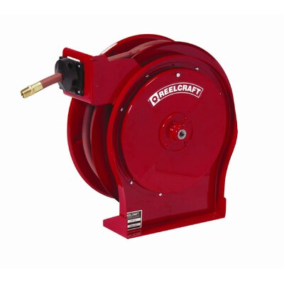 "Reelcraft 0.5"" x 50', 300 psi, Premium Duty Air / Water Reel with Hose at Sears.com"
