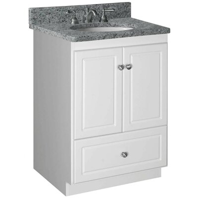Simplicity 24 Bathroom Vanity Base Base Finish: Natural Alder, Depth: 21