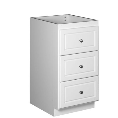 Simplicity 18 W x 34.5 H Cabinet Finish: Satin white