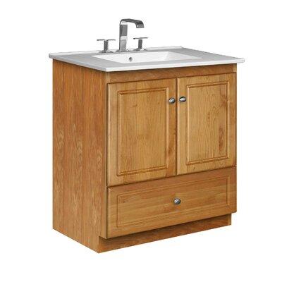 Simplicity 31 Single Bathroom Vanity Set Base Finish: Natural Alder