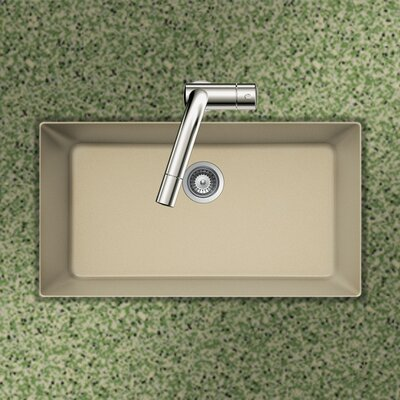 Quartztone 33 x 18.88 Single Bowl Undermount Kitchen Sink Finish: Sand