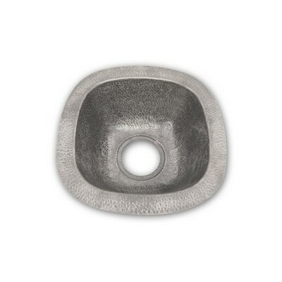 Hammerwerks 12.5 x 12.5 Schnapps Bar/Prep Sink Finish: Pewter