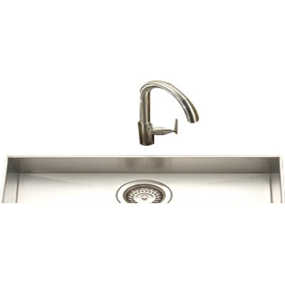 Contempo 23 x 8.5 Zero Radius Undermount Trough Bar Sink