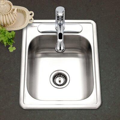 Hospitality 22 x 17 Topmount 22 Gauge Large Bar Sink