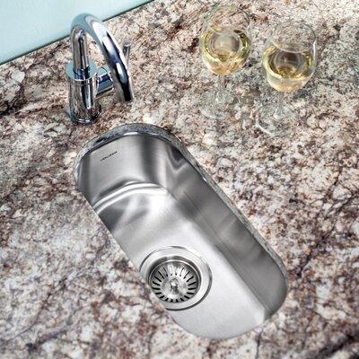 Club 17.94 x 9.31 Undermount Element Bar Sink