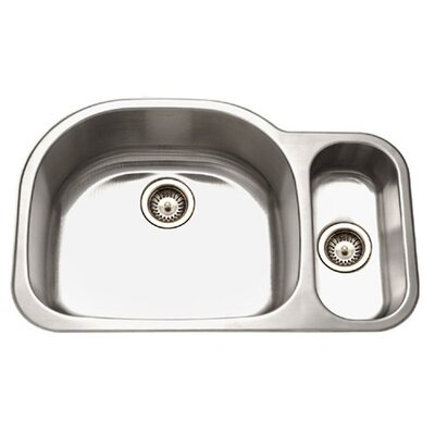 Medallion Designer 32 x 21 Undermount Double Bowl 80/20 Kitchen Sink