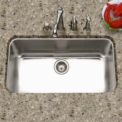 Medallion Gourmet 32.38 x 18.88 Undermount Single Bowl Kitchen Sink