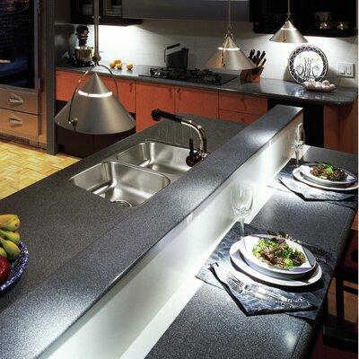 Eston 31.25 x 17.75 Undermount 50/50 Double Bowl Kitchen Sink