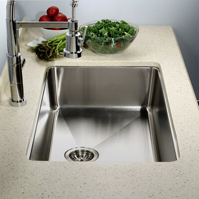 23.07 x 18 Nouvelle Undermount Single Bowl Kitchen Sink