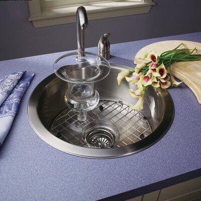Hospitality 17.5 x 17.5 Topmount Round Bar Sink