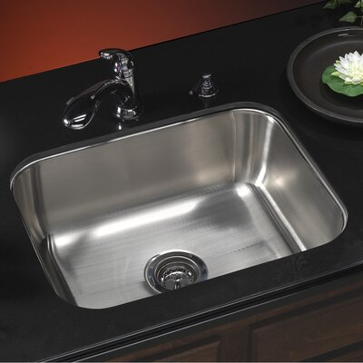 Medallion Classic 23.19 x 17.94 Undermount Single Bowl Kitchen Sink