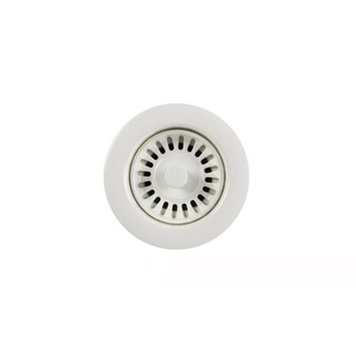 Color Disposal Flange 3.5 Opening Finish: Polar White