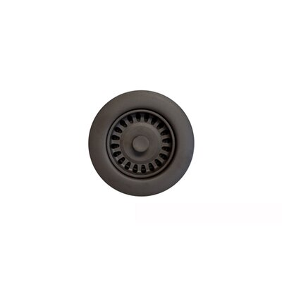 Color Disposal Flange 3.5 Opening Finish: Oil Rubbed Bronze