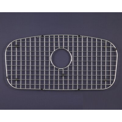 WireCraft 30 x 16 Bottom Grid for Medallion Designer Single Bowl Sink