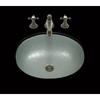 Zoe Oval Undermount Bath Sink Sink Finish: Mayan Z Pewter