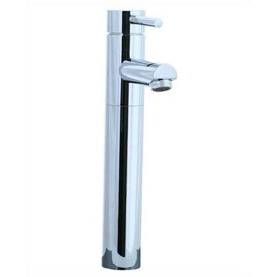 Techno Single Hole Bathroom Sink Faucet with Single Handle Finish: Polished Chrome