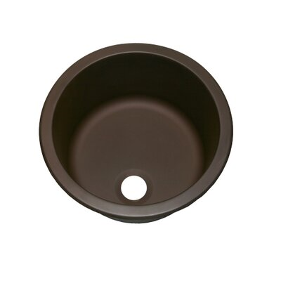 13.8 x 13.8 Round Bar Sink Finish: Oil Rubbed Bronze