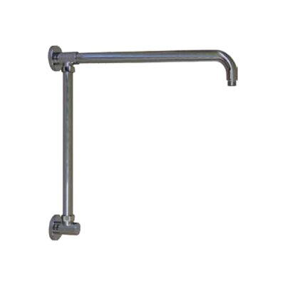 Vertical Riser with 17 Shower Arm Finish: Brushed Nickel