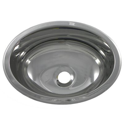 13.3 X 10.5 Bar Sink Finish: Polished Stainless Steel