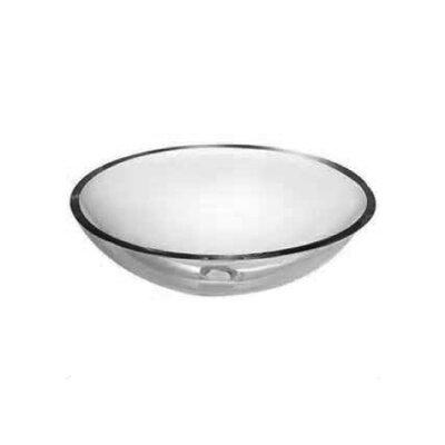 Glass Circular Vessel Sink