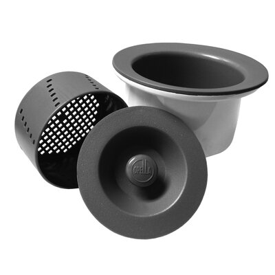 Senior Basket Strainer Finish: Storm Gray
