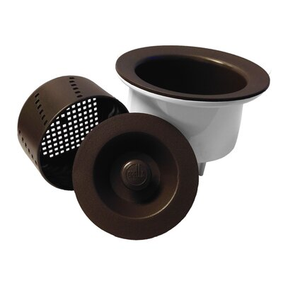 3.5 Lift and Turn Tub Drain Finish: Espresso