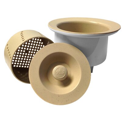 Senior Basket Strainer Finish: Bicotto