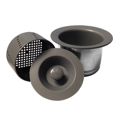 Senior Disposer Flange Finish: Storm Gray