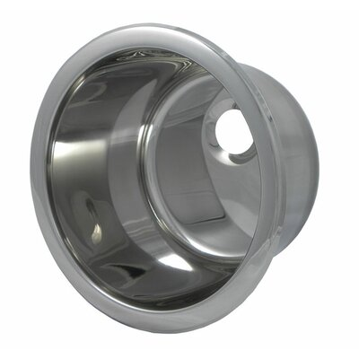12.1 x 12.1 Round Bar Sink Finish: Polished Stainless Steel