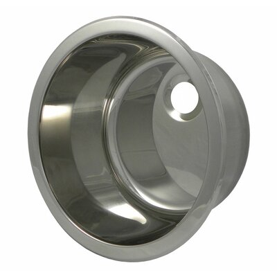 13.8 x 13.8 Round Bar Sink Finish: Polished Stainless Steel
