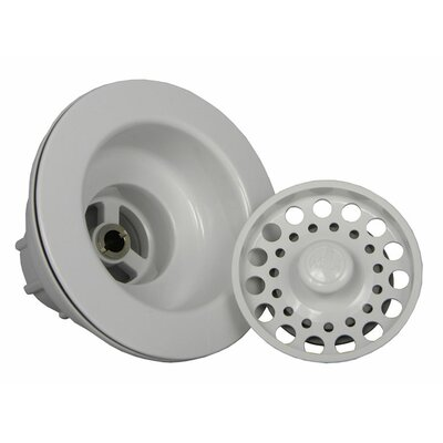 Strainer Waste Finish: Euro White