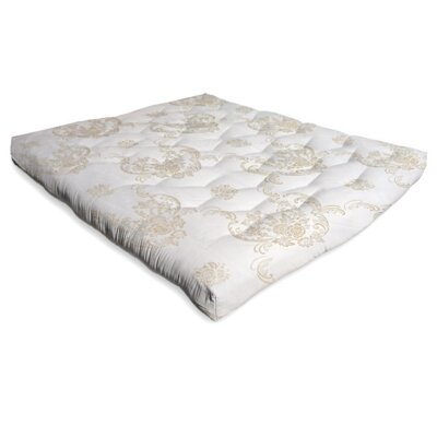 Chemical Free Organic Cotton Mattress Topper Size: Full