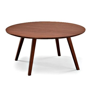 Currant Living Coffee Table Color: Dark Walnut