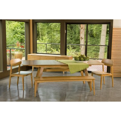 Currant Dining Table Finish Caramelized