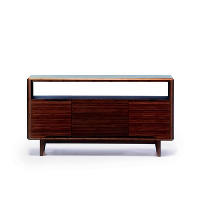 Currant 54 TV Stand Color: Black Walnut