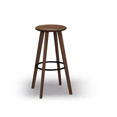 Mimosa 30 Bar Stool Finish: Black Walnut