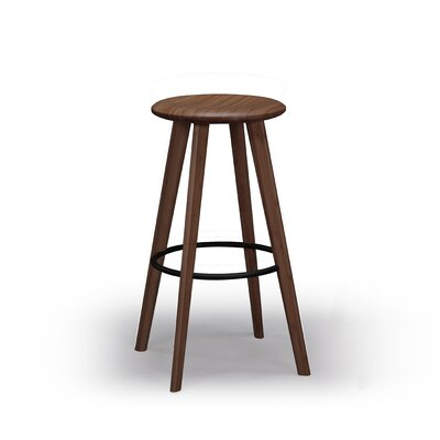 Mimosa 26 Bar Stool Finish: Black Walnut