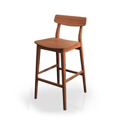 Currant Bar Stool Finish: Caramelized